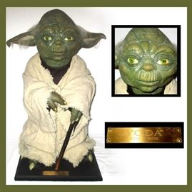 Life Size Star Wars Yoda ltd Edition 5002 of 9500 by Illusive Concepts
