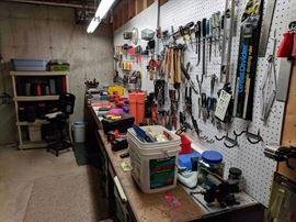 A few tools...Rigid, Stanley, Craftsman, Bosch, Black & Decker, etc.