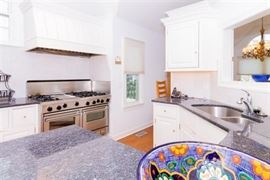 Great kitchen with custom cabinets