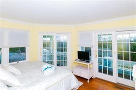 Multiple Andersen sliding glass doors & double-hung windows
