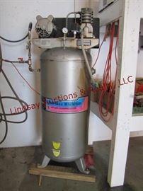 LOT 7 - Campbell Hausfeld 60 gal vertical air compressor,