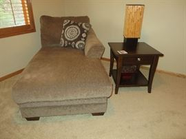 6 PCS SECTIONAL SOFA SET (This piece is unattached and in other room)    SQUARE END TABLE WITH DRAWER