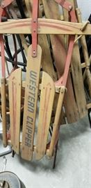 Great vintage sledges