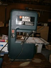 Black & Decker band saw.