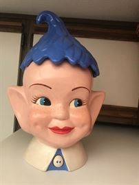 1957 Elf cookie jar