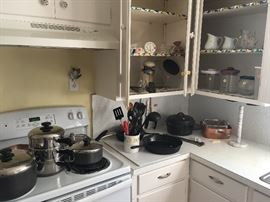 Better cookware and vintage items