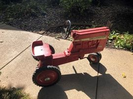 Antique International Pedal Car Tractor