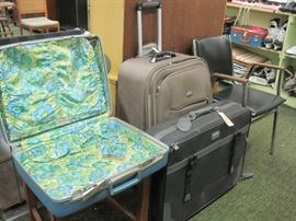 luggage & chair