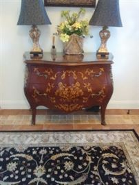 Antique commode french chest was owned by Delta Burke and Gerald McRainey