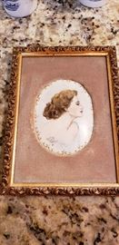 Justine Pfaff Petrea hand painted porcelain
