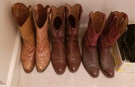 Gents leather boots