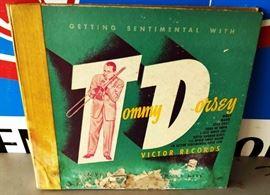 Vintage Record Set- Tommy Dorsey