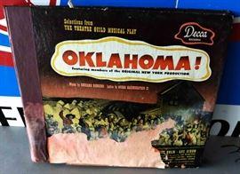 "Vintage Record Set- ""Oklahoma"""