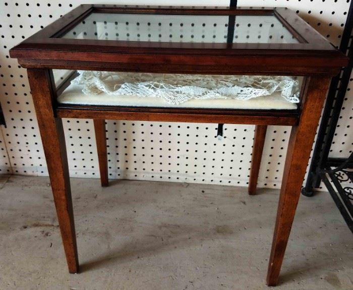Vintage Curio Table