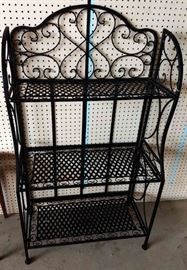 Metal Baker's Rack