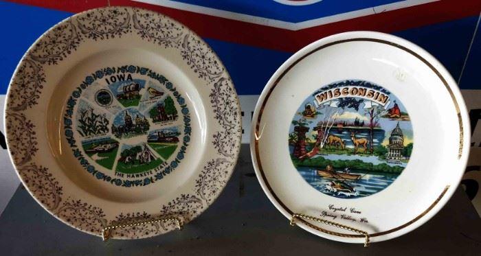 Vintage Souvenir Plates