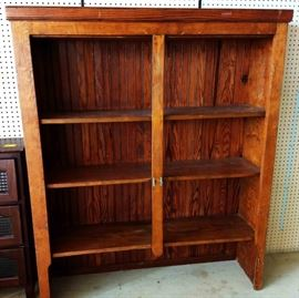 Vintage Tongue 'n Groove Bookshelf