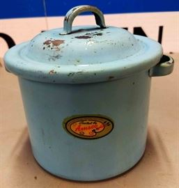 Vintage Amsco Lidded Pot