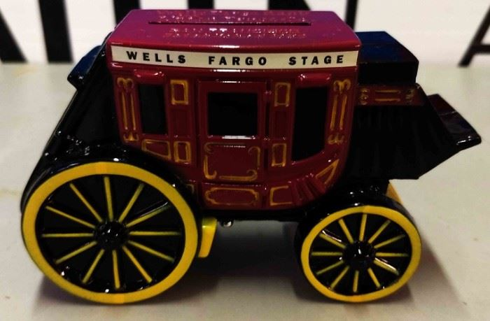 Wells Fargo Cast Metal Bank