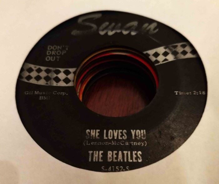 Vintage 45 Record- The Beatles (Swan Label)