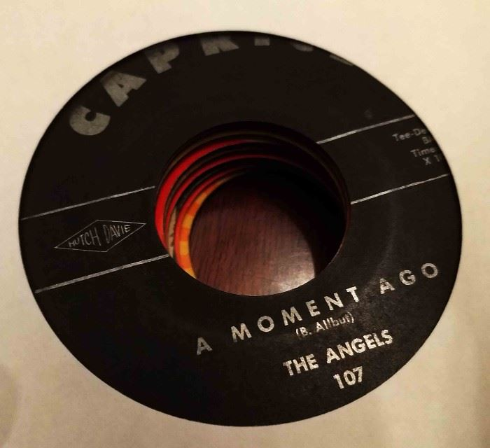 Vintage 45 Record- The Angels