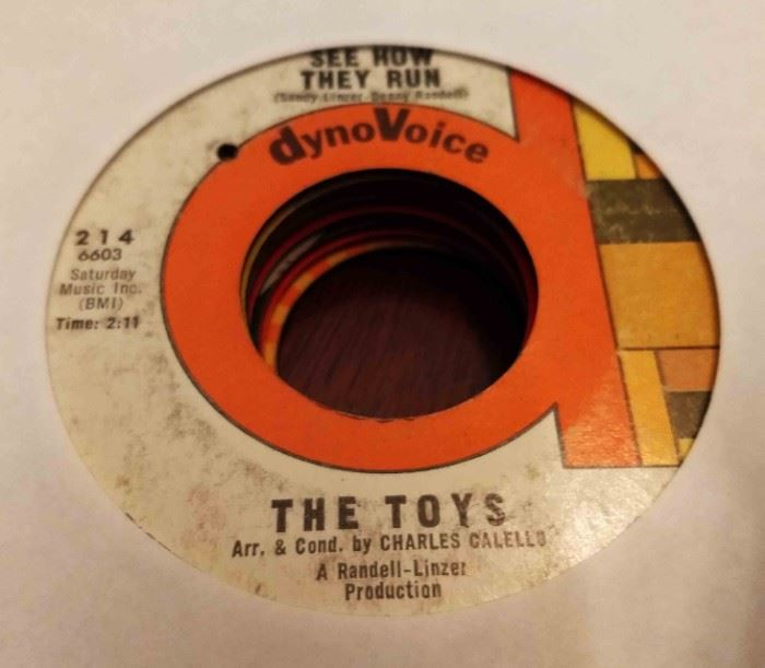 Vintage 45 Record- The Toys