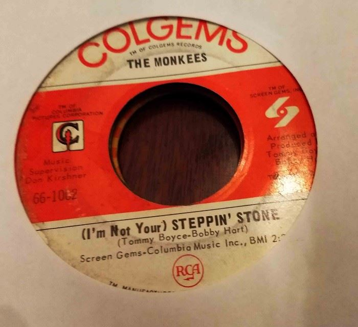 Vintage 45 Record- The Monkees