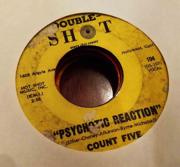 Vintage 45 Record- Count Five