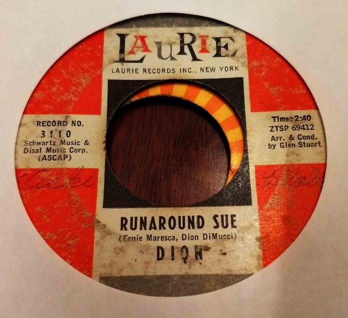 Vintage 45 Record- Dion
