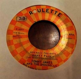 Vintage 45 Record- Tommy James & the Shondells