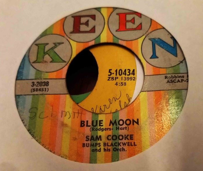 Vintage 45 Record- Sam Cooke