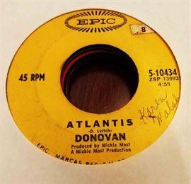 Vintage 45 Record- Donovan