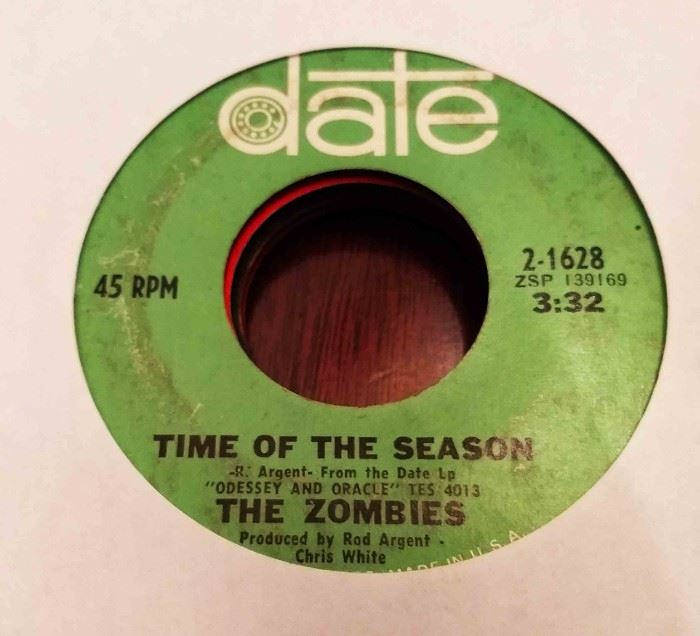 Vintage 45 Record- The Zombies