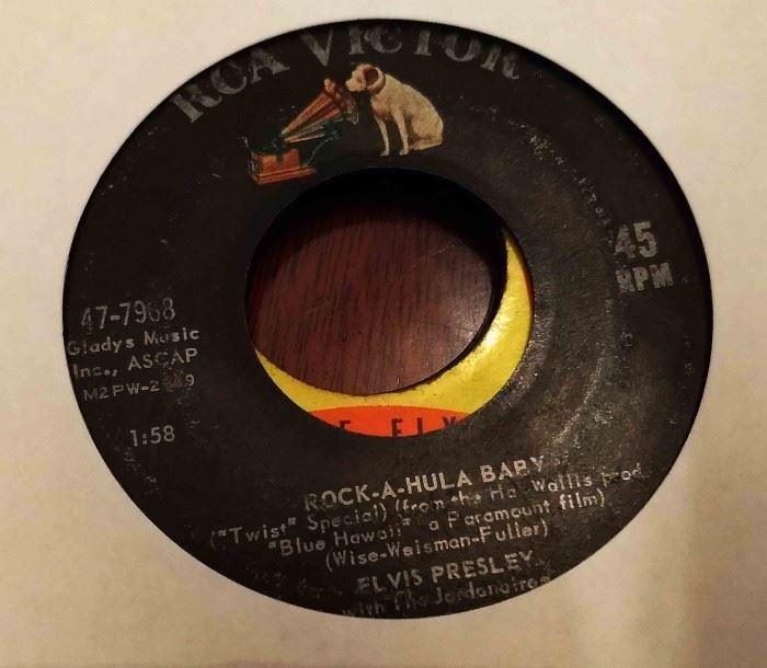 Vintage 45 Record- Elvis Presley
