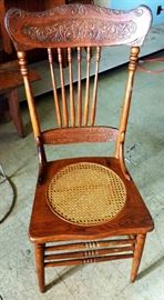 Antique Pressback Chair