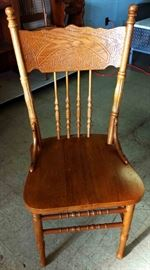 Vintage Pressback Chair