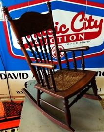 Antique Child's Rocker