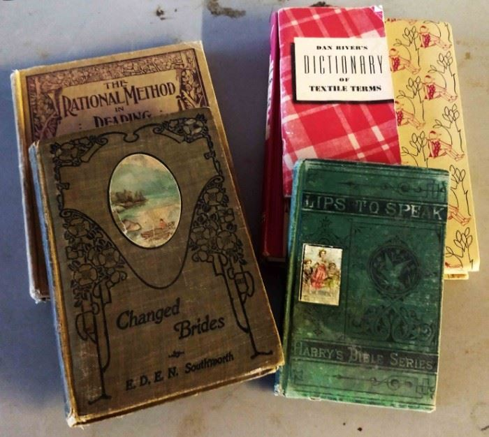 Antique/Vintage Books