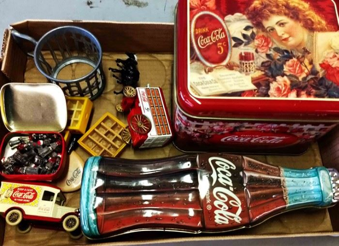 Box Lot- Vintage Coca-Cola Items