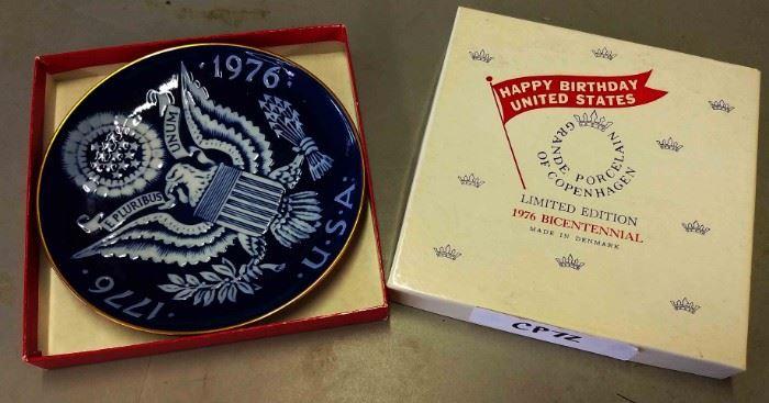 Bi-Centennial Plate