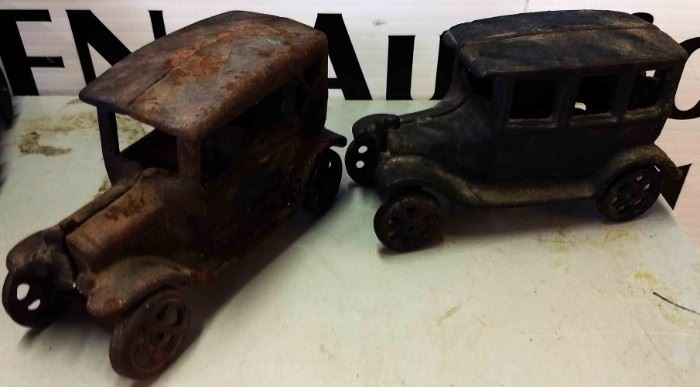 Vintage Cast Iron Cars