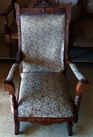 Antique East Lake Rocking (Gliding) Chair