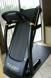 Livestrong Fitness -8.OT folding treadmill.