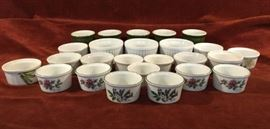 Ramekin Collection 25 Piece  http://www.ctonlineauctions.com/detail.asp?id=763112