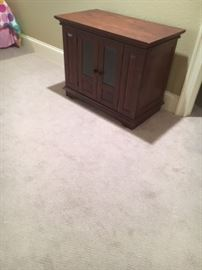 TV stand or nice wood cabinet.
