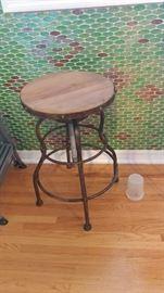 Vintage style bar stools