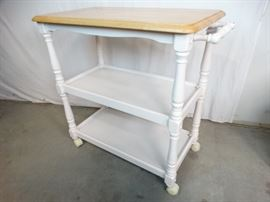 Country Style Serving Cart