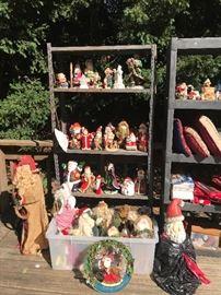 Santa collection sold as a set