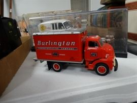 1 vintage metal milk trucks