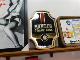 Michelob mirror